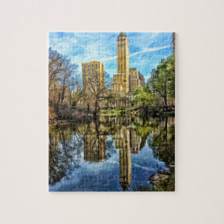 Puzzle Réflexion de Central Park d'horizon de New York