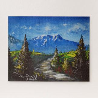 Puzzle Route de montagne