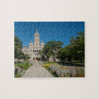 Puzzle Salt Lake City et bâtiment du comté, Salt Lake