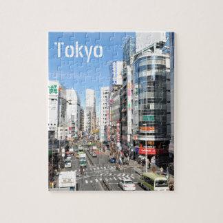 Puzzle Secteur de Shinjuku à Tokyo, Japon