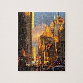 Puzzle Secteur Sun de théâtre de New York City NYC