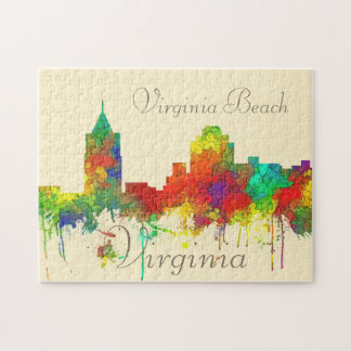 Puzzle SG d'horizon de Virginia Beach Viginia