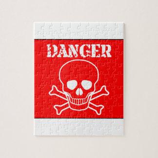 Puzzle Signe rouge de danger