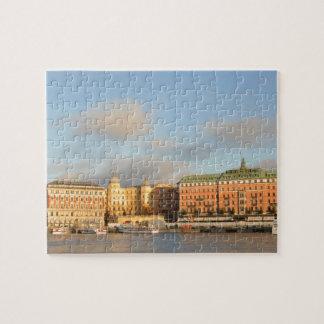 Puzzle Stockholm, Suède