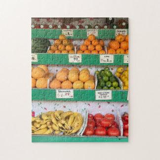 Puzzle Support de fruit, avenue de Columbus, New York