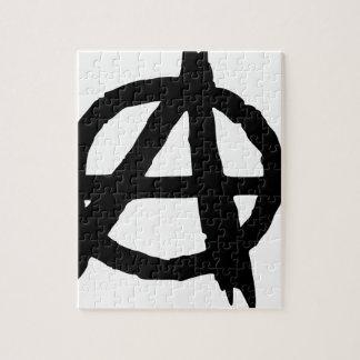 Puzzle Symbole d'anarchie