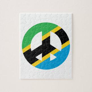 Puzzle Symbole de paix tanzanien