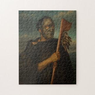 """Puzzle """"Tamati Waka Nene"""" - Gottfried Lindauer"""
