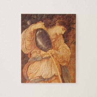 Puzzle Temperantia par Burne Jones, art victorien vintage