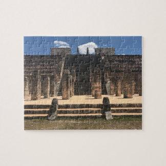 Puzzle Temple de Chichen Itza de la casse-tête Warrior#2
