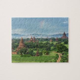 Puzzle Temples dans Bagan, Myanmar