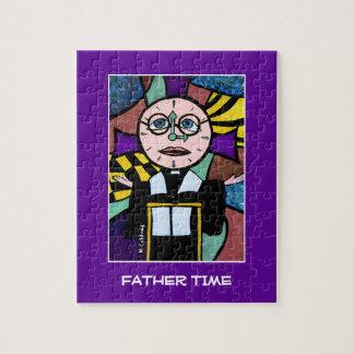 Puzzle Temps de père - le temps rapièce des couleurs