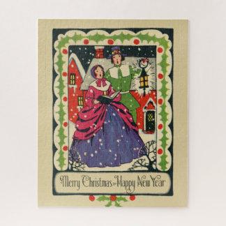 Puzzle Tenue traditionnelle victorienne vintage de Noël