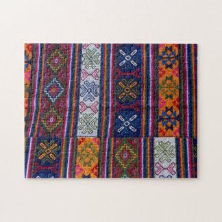 Puzzle Textile bhoutanais