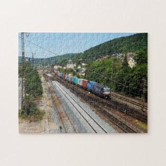 Puzzle Train de marchandises dans les Gemünden au Main