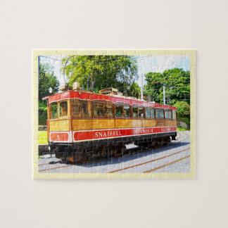 Puzzle Train de montagne de Snaefell