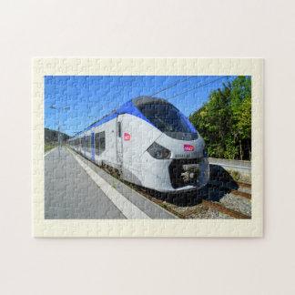 Puzzle Train local de SNCF
