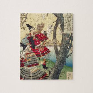 Puzzle Tsukioka Yoshitoshi - Yoshitsune et Benkei