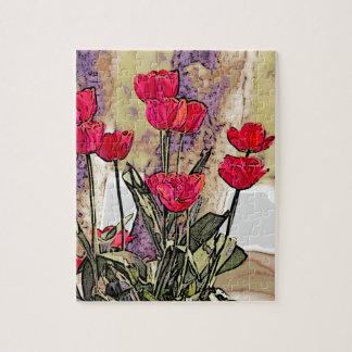 Puzzle Tulipes de ressort