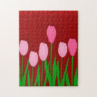 Puzzle Tulipes Puzzel
