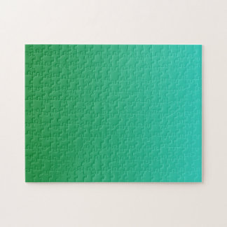 Puzzle Turquoise Ombre vert