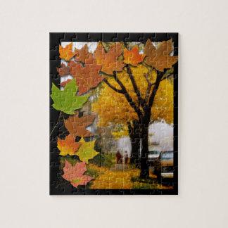 Puzzle Une journée agréable d'automne