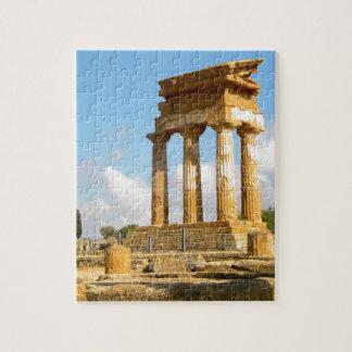 Puzzle Vallée des temples Sicile