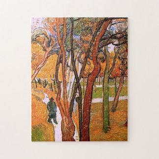 Puzzle Van Gogh la promenade : Feuille en baisse, art