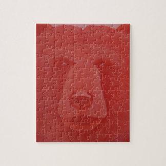 Puzzle vermeil d'ours