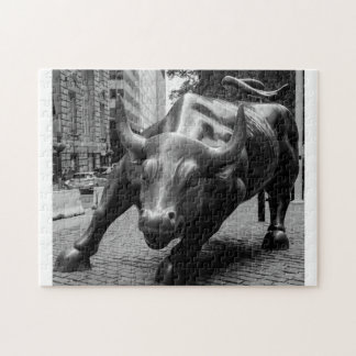 Puzzle Wall Street Taureau New York.