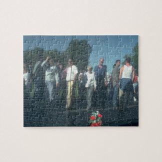 Puzzle Washington DC de mur de vétérans du Vietnam de