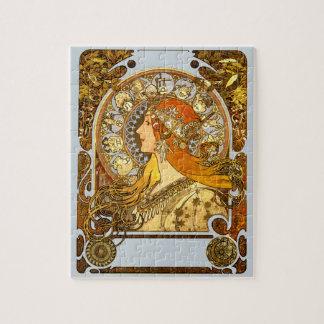 Puzzle Zodiaque de Nouveau d'art