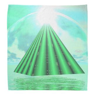 Pyramide mystique - 3D rendent Bandana