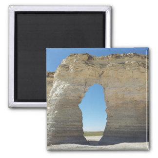 Pyramides de craie du Kansas Aimant