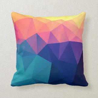 QDWAV • Coussin polygonal multicolore