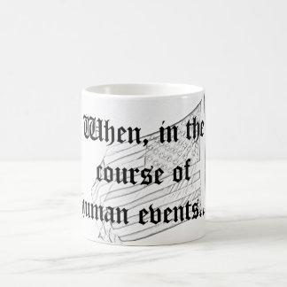 Quand, au cours des événements humains… mug