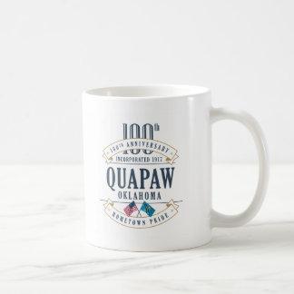Quapaw, tasse d'anniversaire de l'Oklahoma 100th