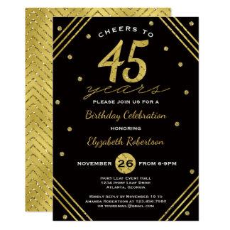 quarante-cinquième Invitation de fête