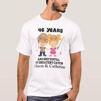 quarante-sixième Cadeau fait sur commande T-shirt