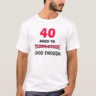 quarantième Cadeaux d'anniversaire pour le T-shirt