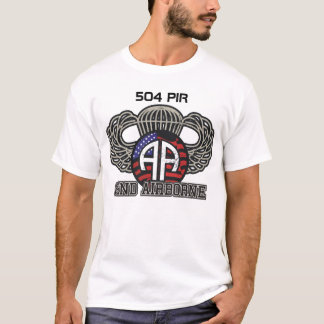 quatre-vingt-deuxième 504 parachutistes aéroportés t-shirt