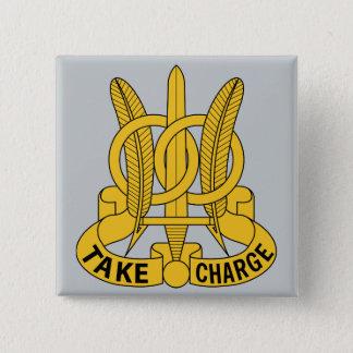 quatre-vingt-dix-septième Bataillon de police Badge Carré 5 Cm
