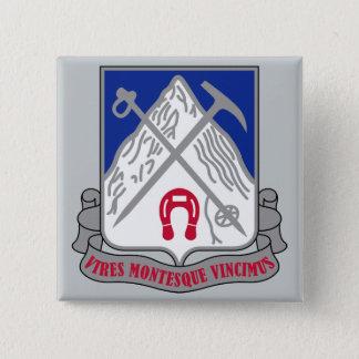 quatre-vingt-dix-septième Régiment d'infanterie Badge Carré 5 Cm