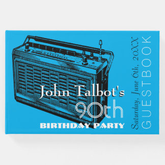 Quatre-vingt-dixième livre d'invité de fête