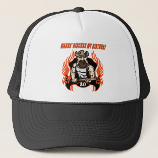 quatre-vingtième casquette d'anniversaire
