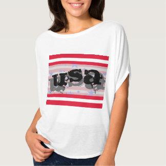 Quatrième des Etats-Unis Amérique de T-shirt