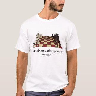 Que diriez-vous d'un T-shirt intéressant de partie