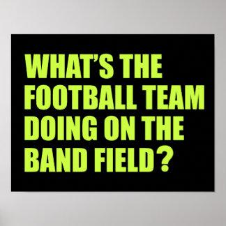 Que l'équipe de football fait-elle ? Humeur de