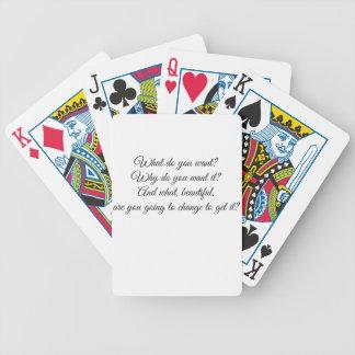 Que voulez-vous ? jeu de cartes