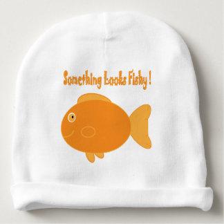Quelque chose semble de poisson ! bonnet pour bébé